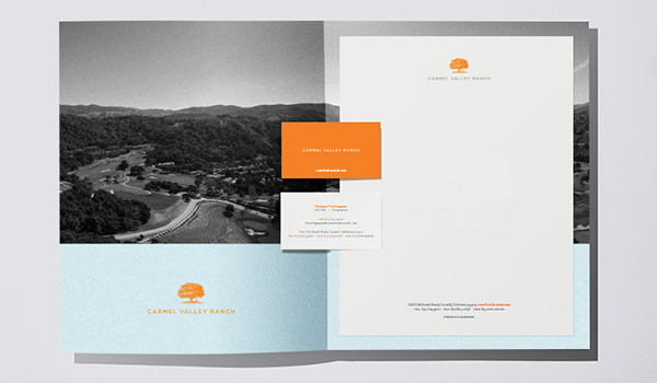 Carmel Valley Ranch Branding
